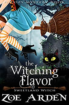 Witching Flavor Cozy Mystery Book ebook product image