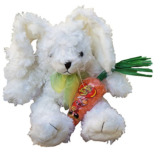 "Floppy the Easter Bunny 12"" Stuffed Plush Toy Rabbit with Ca"