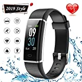 Lintelek Fitness Tracker, Waterproof Activity Tracker Watch with Heart Rate Monitor, Color Screen