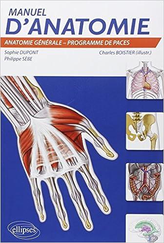 Manuel d'Anatomie epub, pdf