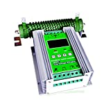 JNGE POWER 1200W Off Grid MPPT Wind Solar Hybrid Charge Controller 24V 50A for 600W Wind 600W Solar with Booster and Free Dump Load