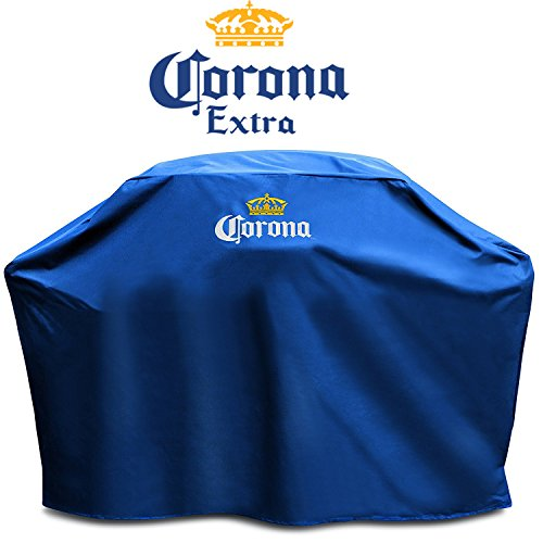 Corona BBQ Gas Grill Cover - Portable Barbeque Outdoor Grill Covers Heavy Duty Waterproof for Large 60 inch 2, 3, 4 Burner for Smoker Charcoal Pellet Grill