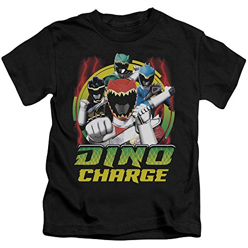 Juvenile: Power Rangers - Dino Lightning Kids T-Shirt Size -