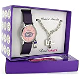 Ravel Girlz Watch and Jewellery Girls Gift set LOL with Mobile Charm R3304