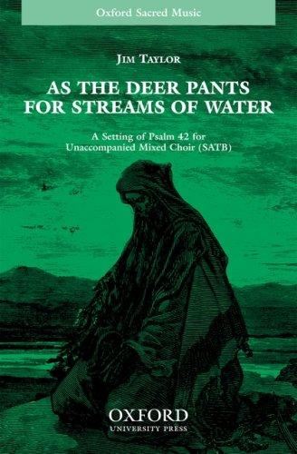 As the deer pants for streams of water: Vocal score ebook