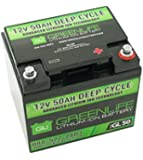 GreenLiFE Battery GL50 - 50AH 12V Lithium Ion Battery