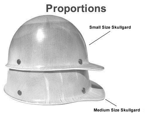 MSA Skullgard (SMALL SIZE) Cap Style Hard Hats with Ratchet Suspension - Natural Tan by MSA (Image #5)