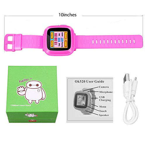 Kids Smartwatch,Smart Watch with Games,Girls Boys Smart Watches with Digital Camera Children's Smart Wrist Kids Gifts Learning Toys by YNCTE (Image #6)