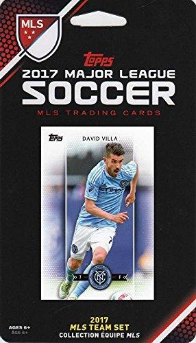 New York City FC 2017 Topps MLS Soccer Factory Sealed 9 Card Team Set with Thomas McNamara and David Villa plus (New City David Villa York)