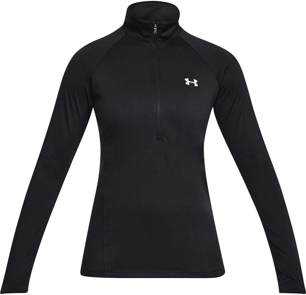 Under Armour Womens Tech /½ Zip Long Sleeve Pullover