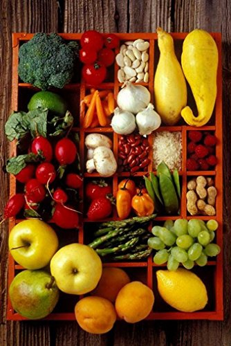 fruit and vegetable prints - 1