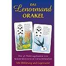 Das Lenormand Orakel: Die 36 Wahrsagekarten von Mademoiselle Lenormand. Mit Erklaerung und Legemuster
