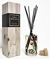 Urban Naturals Mountain Air Scented Fragrance Oil Reed Diffuser & Room Freshener | Golden Apples, Birch Wood Cashmere, Fennel & Cedar | Decorative Botanicals | Vegan.