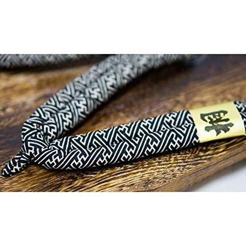 Calzado L Negro japón Sandalias Geta Madera Diseño Paulownia De Hecho Tradicional Hombre Básica Talla Para 1w1gzq6