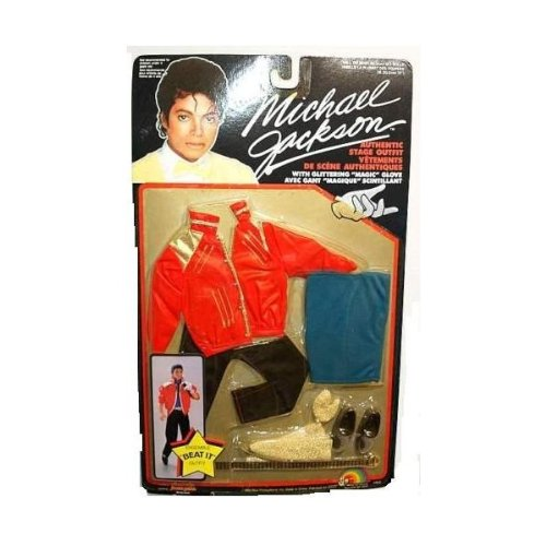 Michael Jackson 1984 Beat It Doll Stage OUTFIT - OUTFIT ONLY (Michael Jackson Billie Jean Outfit)