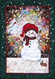 Whims Watercolor Quilt Kits Let it Snowman Quilting Supplies