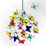 Ceiling lamp with butterflies-Decor Lighting,Kids decor,fun light,colorful light,playroom,Kids Room Decor,Children Room Light,shadow lamp