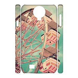 Diy The Ferris Wheel Phone Case for samsung galaxy s4 3D Shell Phone JFLIFE(TM) [Pattern-2] Kimberly Kurzendoerfer