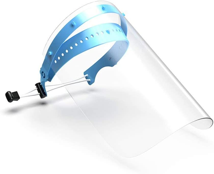 Wandisy Protector Facial Completo, Protector Facial Desmontable Profesional de 10 Piezas