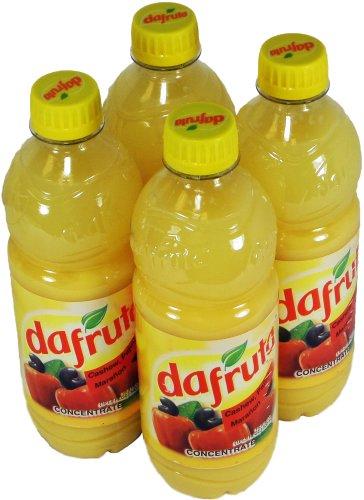 Dafruta Cashew Juice Concentrate - 16.9 FL.Oz | Suco Concentrado Dafruta Sabor Caju - 500ml - (PACK OF 04)