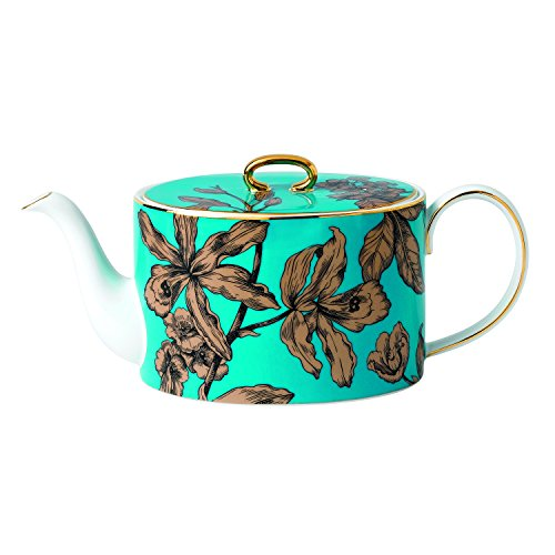 Wedgwood Vibrance Teapot, Turquoise
