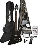 Epiphone PPEG-EDEXEBCH1-15 Electric Guitar Pack, Ebony