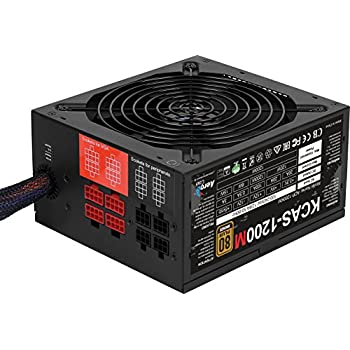 Image of AeroCool KCAS 1200W 80Plus Bronze Noise Reducing Components Black Internal Power Supplies