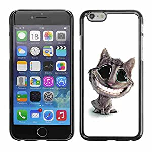 """Shell-Star ( Funny Lol Big Smile Cat ) Fundas Cover Cubre Hard Case Cover para 5.5"""" iPhone 6 Plus"""