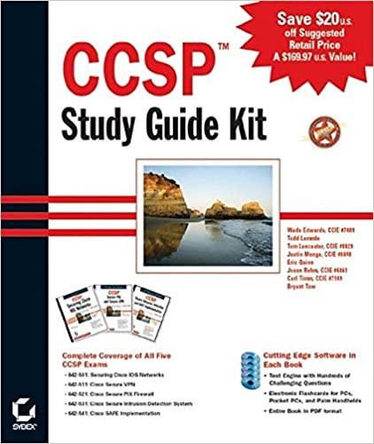 CCSP Study Guide Kit: 9780782142334: Computer Science Books @ Amazon com