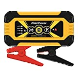 Keenpower 600A 12000mAh Portable Car Jump Starter, Emergency Battery Booster Pack with USB Charging Outputs, LED Flashlight (Black/Red/Yellow) (YELLOW)