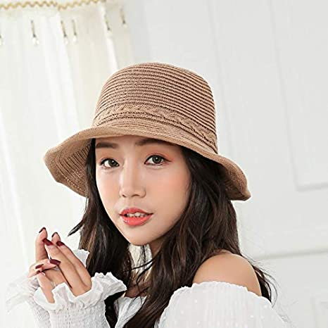 Image Unavailable. Image not available for. Color  Best Quality Hah 2018  New Sunshade Bucket hat for Women ... db4eb745183