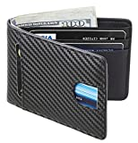 Best Wallet Men - Casmonal Mens Leather Wallet Slim Front Pocket Wallet Review