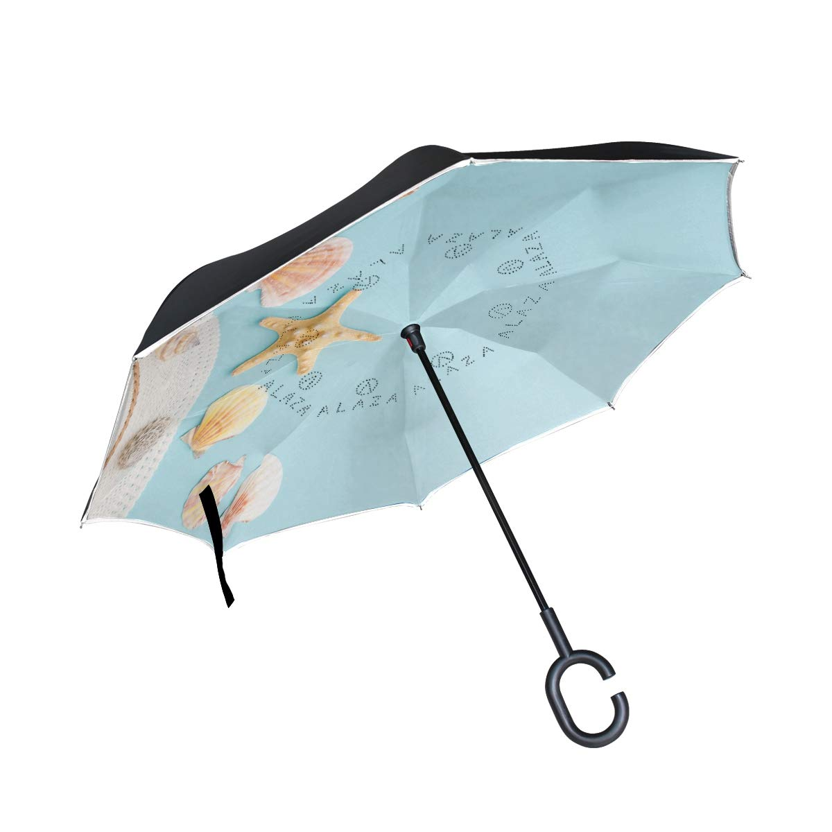 MUMIMI, Parapluie Cannes Mixte Adulte Multicolore Multicolore Taille Unique