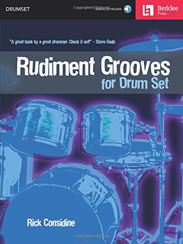 Rudiment Grooves for Drum Set Bk/Online Audio