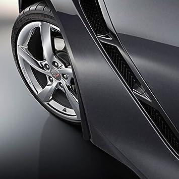 Corvette C7 Stingray OEM GM Front Fender Molded Splash Guards Black by Performance Corvettes