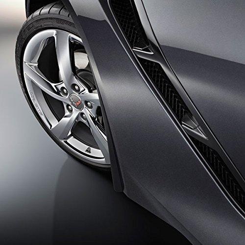 New Gm Molded Splash - Performance Corvettes Corvette C7 Stingray OEM GM Front Fender Molded Splash Guards Black