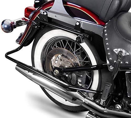 Kit di Borse Rigide Laterali con telaietti per Harley-Davidson Heritage Softail Classic 88-17 esteso