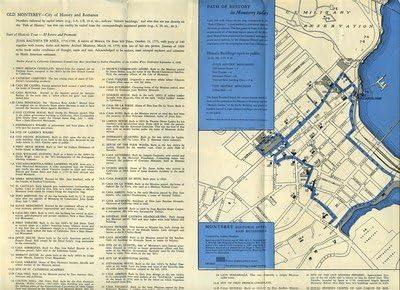 Amazon.com: Path of History in Monterey California Brochure 1930's on