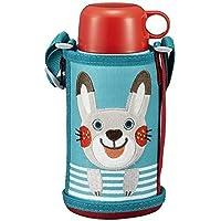 【日本进口】TIGER 日本版儿童冷热两用真空保温杯 600ml MBR-B06G AR- 小兔