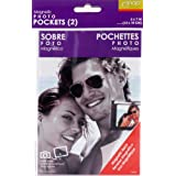Snap 07FP989 Magnetic Photo Pockets 2-Pack, 5-Inch by 7-Inch