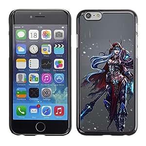 Caucho caso de Shell duro de la cubierta de accesorios de protección BY RAYDREAMMM - Apple iPhone 6 Plus 5.5 - Game Fantasy Pc Character