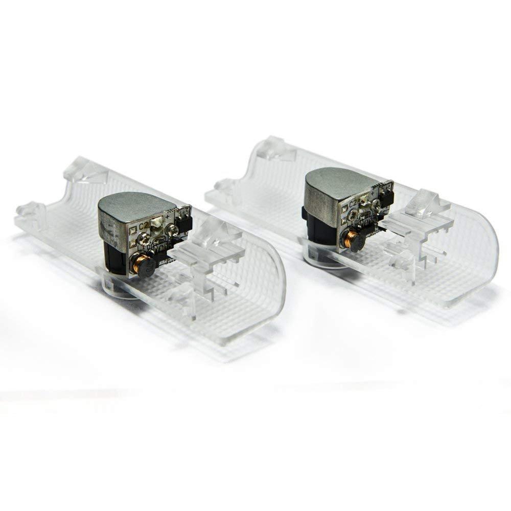2pcs AutoPart Volvo S60 V60 S60L S80L S80 V40 XC60 XC90 LED Logo Projector Courtesy Shadow Door Lights