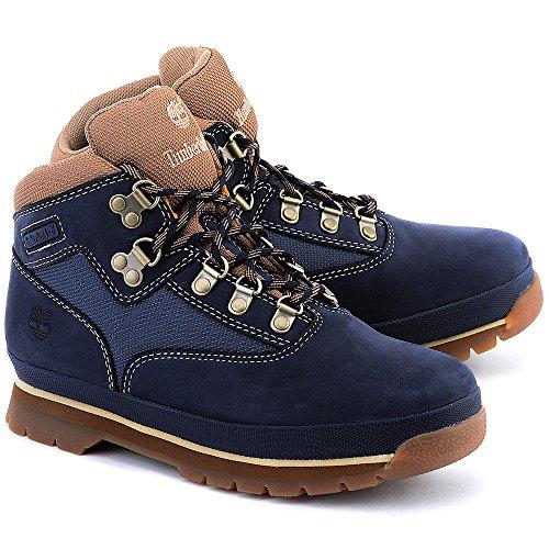 Timberland Euro Hiker - Bottes Enfant - Leather bleu Modèle 40 2015