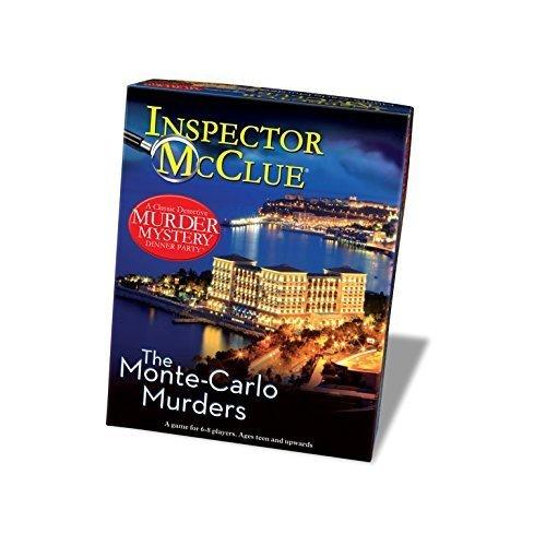 Paul Lamond The Monte Carlo Murders Mystery Dinner Party Game by Paul Lamond