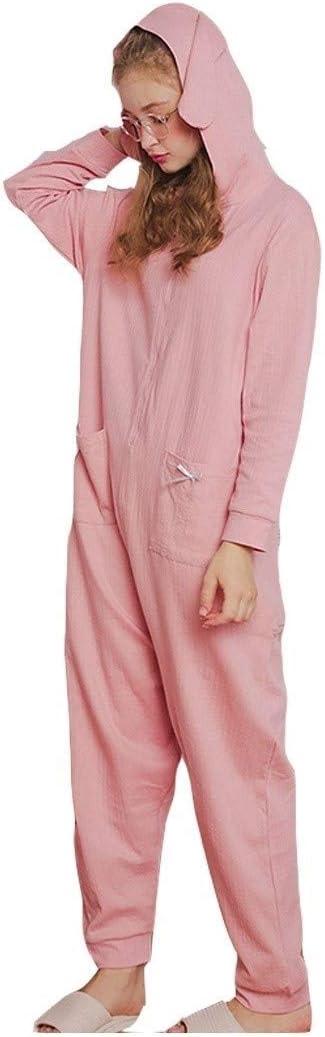 Yongyong mono para hombre, pijamas de manga larga de algodón ...