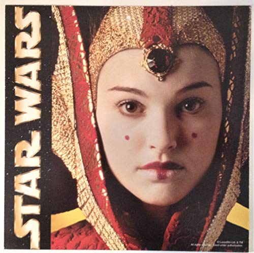 (Star Wars: Episode I 1999 Book Store Two-Sided Mobile Display Queen Amidala)