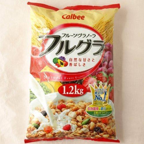 Calbee Calbee fruit granola serial Furughllha 1kgX2 bags by Karubi (Image #2)