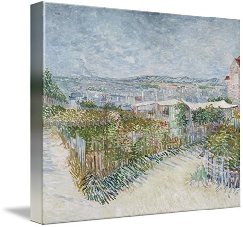 Wall Art Print Entitled Montmartre, Behind The Moulin De La Galette Paris, by Celestial Images | 10 x 8