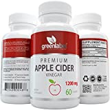 #2: Extra Strength Apple Cider Vinegar Capsules - Weight Loss Pills 1200mg, for Women & Men, Natural Cleanser, Digestion & Detox, Diet Supplement, Made in Utah, USA.