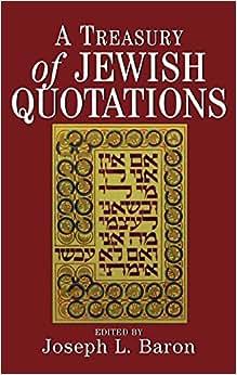 A Treasury Of Jewish Quotations